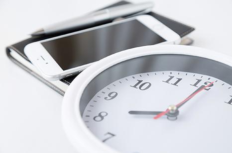 時計画像(24時間 365日対応)イメージ